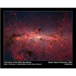 Center of the Milky Way Galaxy in Infrared (Courtesy NASA/JPL-Caltech.)