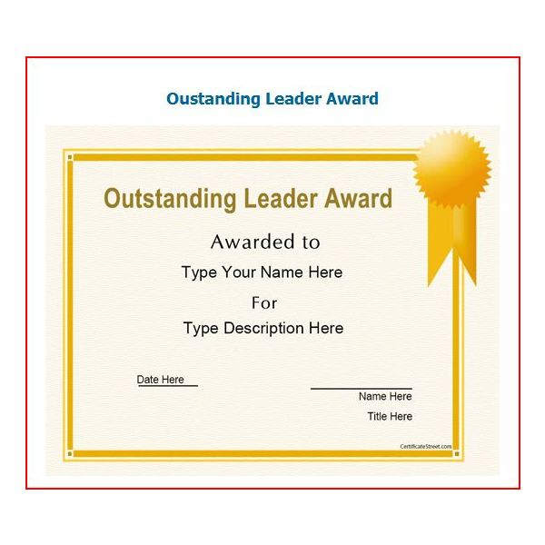 Free printable award certificates10 great options for a wide 10 free printable award certificates yelopaper Choice Image