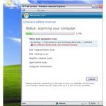 OneCare safety scan on infected XP system
