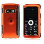Lg Env3 : Vx-9200 Crystal Rubber Surface Phone Cover Case Orange