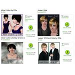 The Sims 3 Alice Cullen and Jasper Hale Downloads