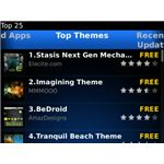 BlackBerryAppWorld 2.0 TopThemes