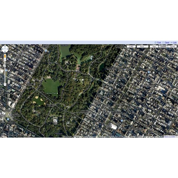 How To Use Google Maps Aerial View - Google maps aerial view