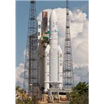 The nosecone of an Ariane 5 launch vehicle was washed up in Texas.