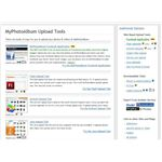 Upload Tools at MyPhotoAlbum