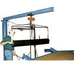 Vestil Floor Mounted Jib Crane