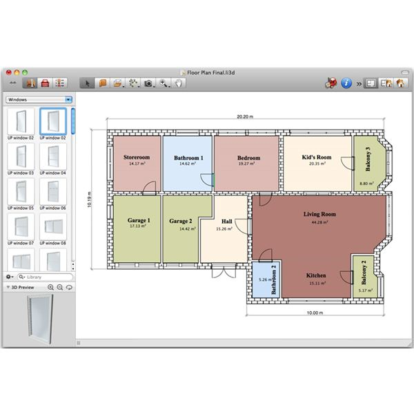 Best Home Design Software That Works For Macs: computer house plans software