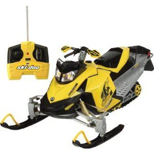 Remote Controlled Snowmobile
