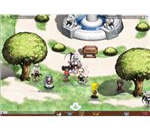 Gaia Online - town screenshot