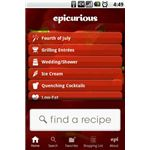 Epicurious Recipe Android App