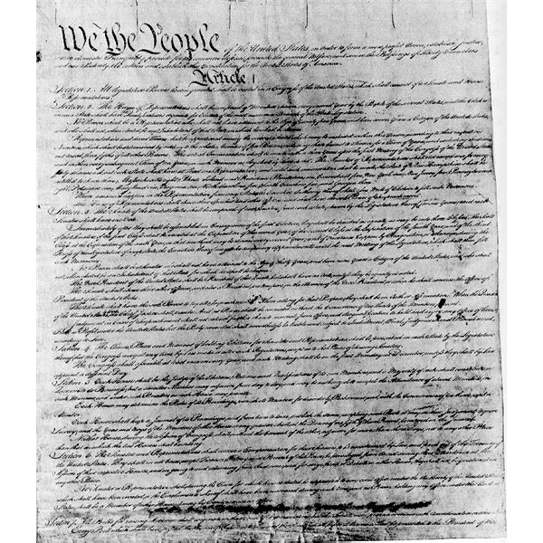 u s constitution outline Thank you for viewing my simplified constitution of the united states  the bill becomes law over the president's veto this is known as overriding a.