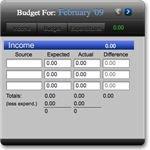 BudgetWise Budget Gadget