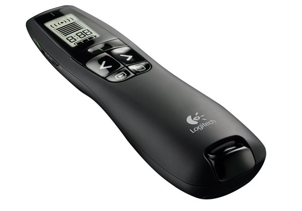 Logitech Professional Presenter R800 with Green Laser Pointer