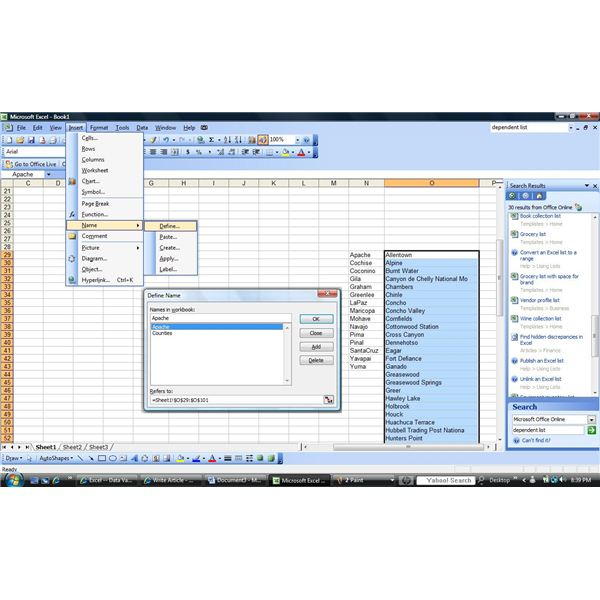How To Put A Drop Down Calendar In Excel 2003