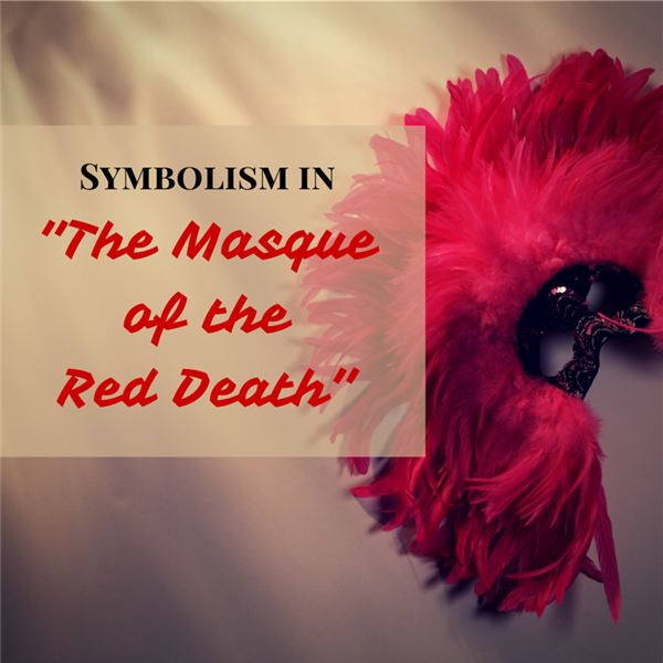a guide to symbols in the masque of the red death rooms colors  the red death