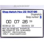 Stop Watch Blackberry