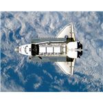 Shuttle in Orbit - Image courtesy of NASA