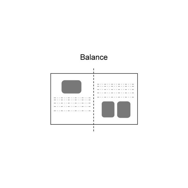 Elements Of Design Balance : Principle of design balance in desktop publishing