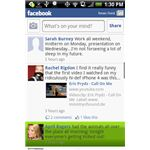 Facebook for Android on an HTC Hero