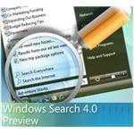 Promotional image of Windows Search 4.0