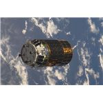 HTV-1 approaches ISS