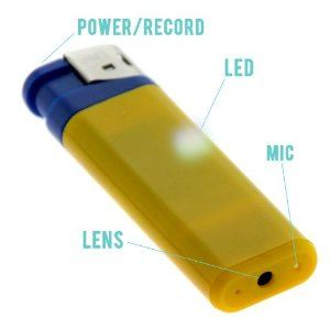 GTMax USB Lighter Video Recording Camera