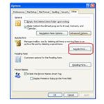 Auto Archive in Outlook 2003