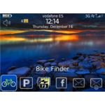 Bike Finder BlackBerry App