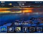Bike Finder BlackBerry App