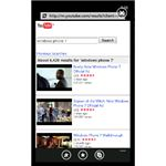 Roundup of Windows Phone 7 YouTube Apps