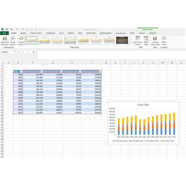 How to Create a Bar Chart and Format Your Graphs in Excel 2013 ...