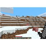 A Herd of Pigs and Cows in Minecraft Survival Mode
