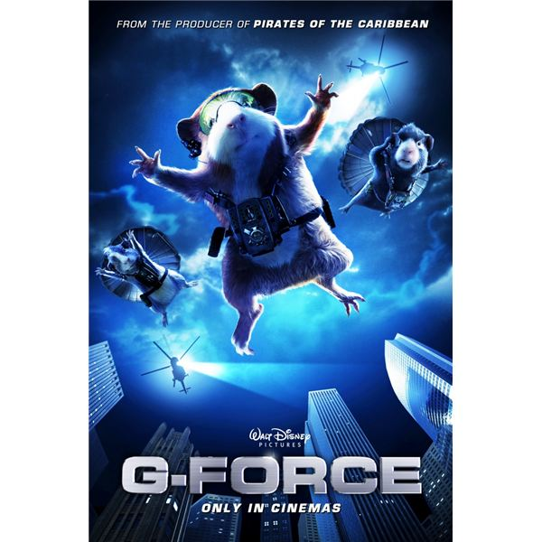 G-Force Team Tactics   G Force Movie