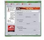 ATI Driver User Interface