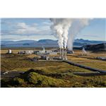 Nesjavellir Geothermal Power Station in Iceland.