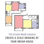 7th Grade Math Lesson: Scale Drawing of Your Dream House