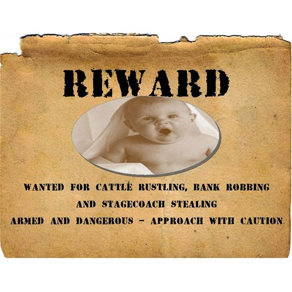 Reward: Wanted Poster Template  Fun Poster Templates