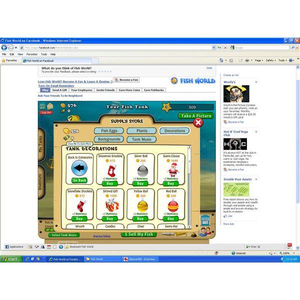 Facebook Fish World Game Review Learn How To Manage Your
