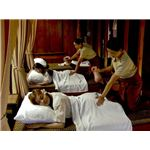 """Thai massage in a spa setting"" by Bhattharasinthorn Kosawan & Chot-Anan Kittiraweechot/Wikimedia Commons"