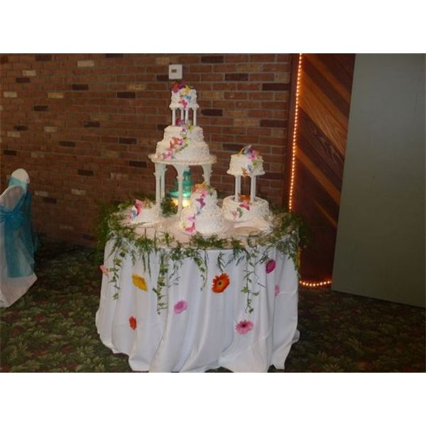 Average Costs Saving Tips The Website Daughters Wedding Cake Courtesy Jean Scheid