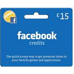 facebook credits gift card