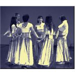 Goddess Dancers often dance in a circle, projecting energy towards each other rather than out to an audience.