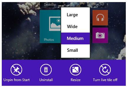 Customizing the Windows Start Screen Tiles