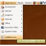 Ubuntu Add/Remove Applications