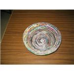 Wrap strips to make 25 cm spiral