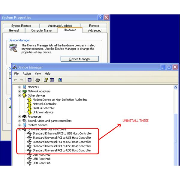 usb device driver for windows xp sp3