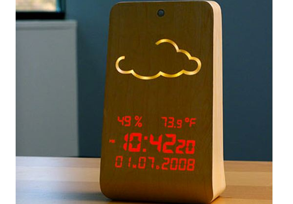 WoodStation Weather Display