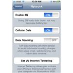 Cellular Data option - iPhone