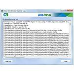 CA Antivirus On-Demand Scan Log