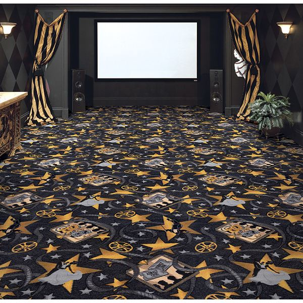 home theater carpet. home theater accessories. neoclical carpet